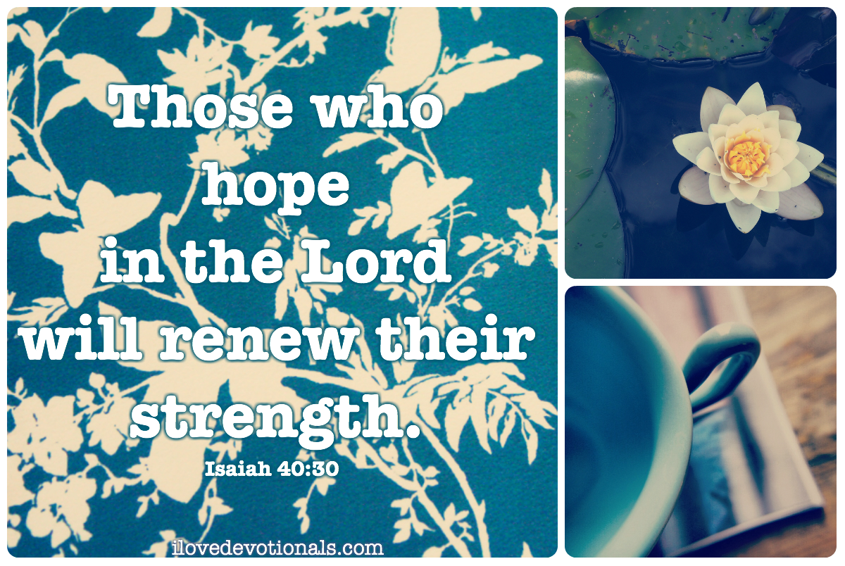 Those who hope in the lord bible verse Isaiah 40:30