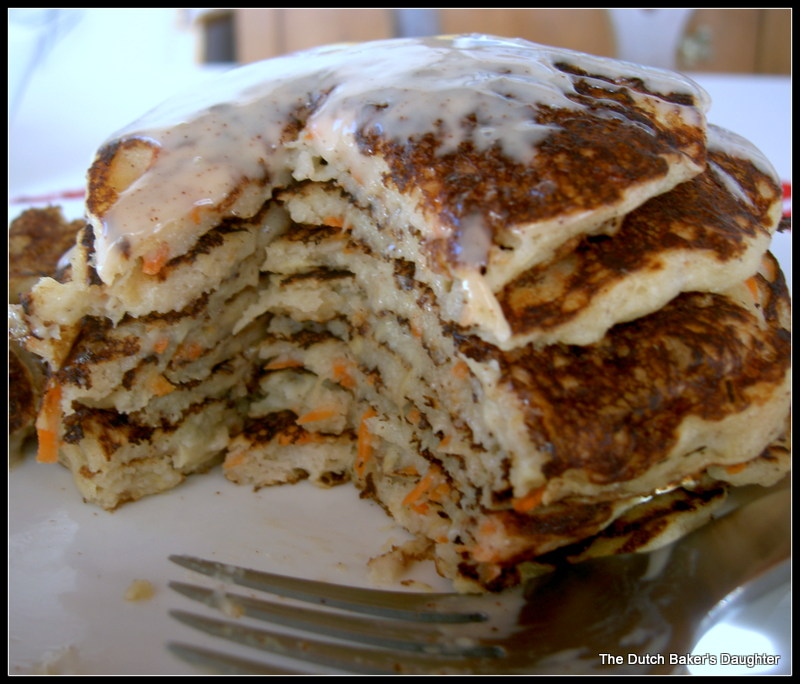 The Dutch Baker's Daughter: Carrot Cake Pancakes with ...