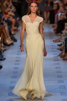 прозрачна рокля шампанско, Zac Posen