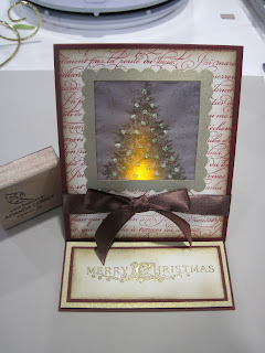 Luminary Easel Card