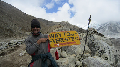 Way to Everest base camp ( EBC)