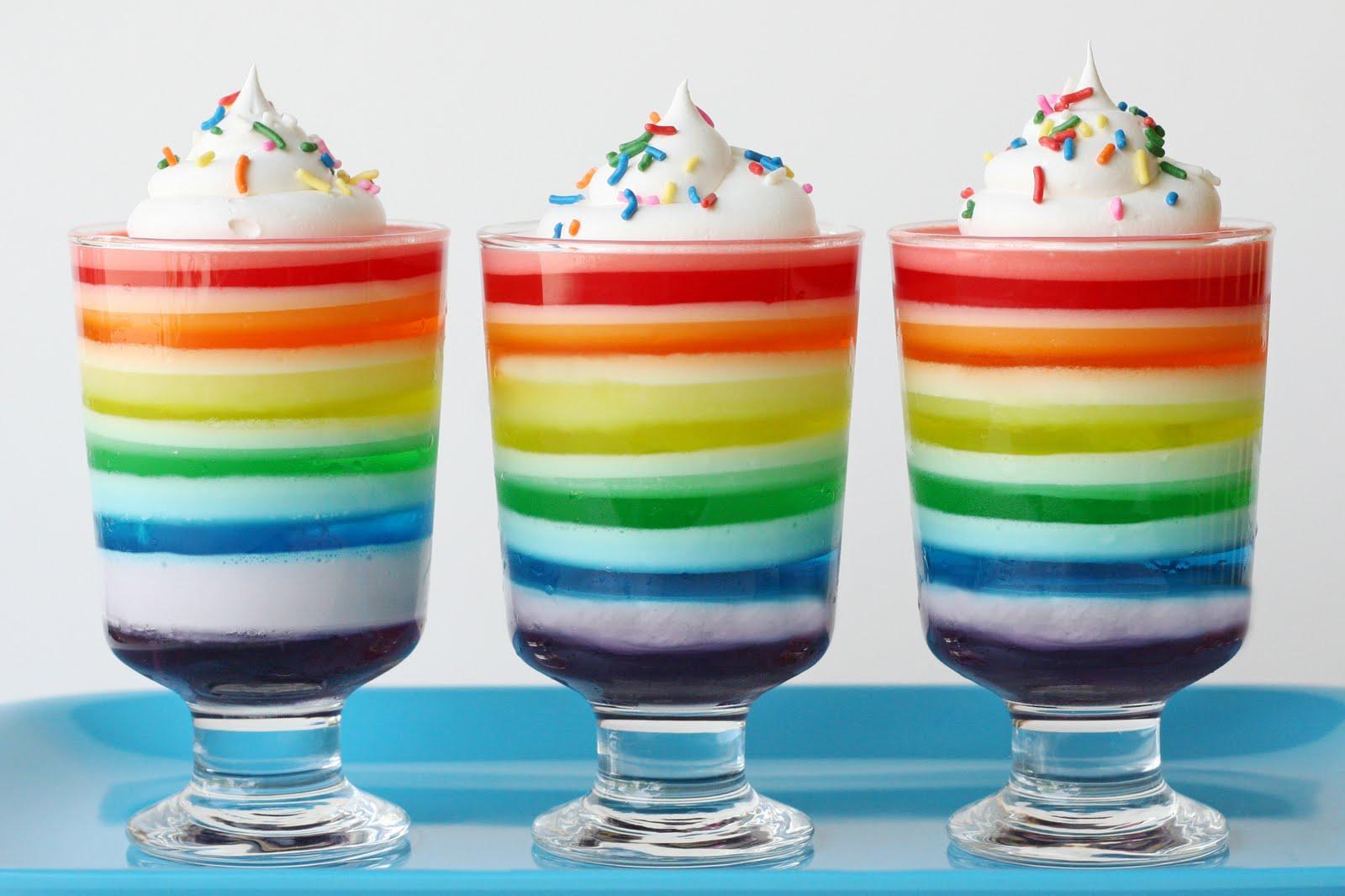 Taste the Rainbow Jello Glorious Treats
