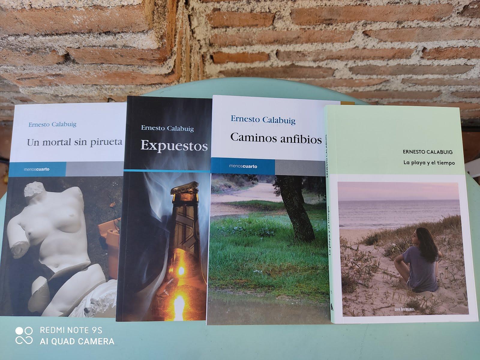 Mis cuatro libros