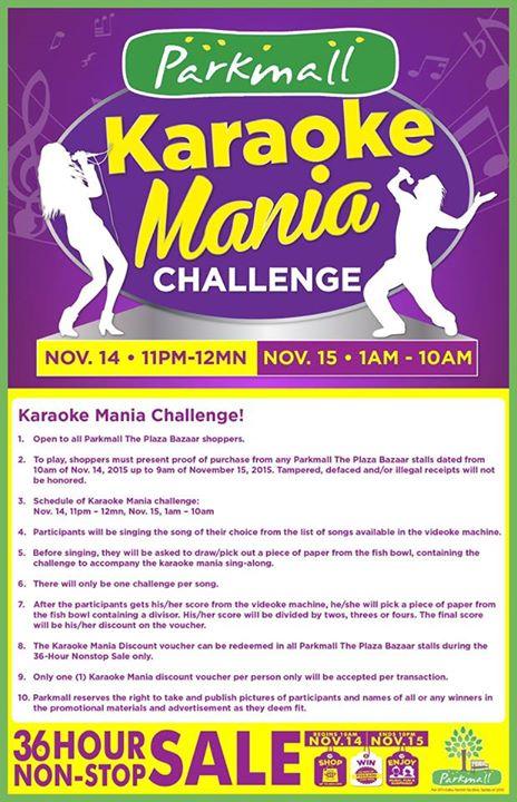 Parkmall-Karaoke-Challenge