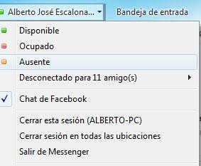 Truco cerrar sesión Windows Live Messenger