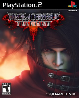 Final Fantasy VII Dirge of Cerberus PS2 Cover