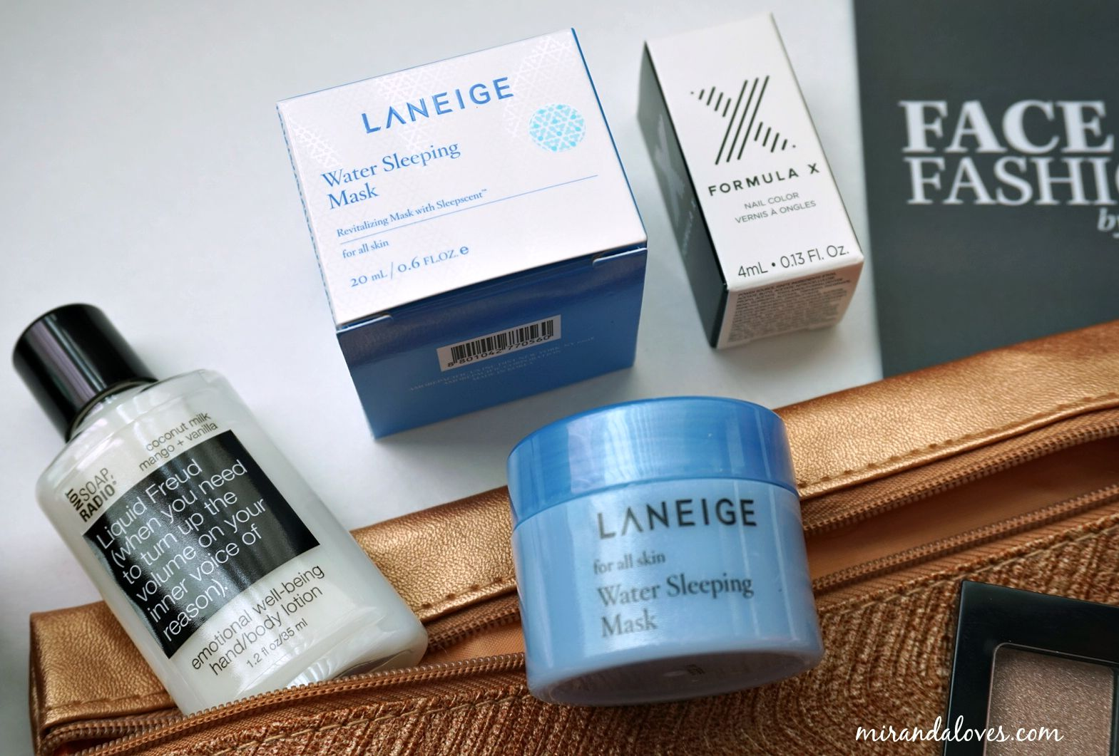 September 2015 Miranda Loves Water Sleeping Mask Laneige Sampel 4ml The Is My All Time Favorite Product Ever Received In Ipsy Bag Subscription This Gives You Baby Soft Skin When Applied At