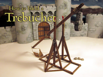 How to Build a Bretonnian Trebuchet for Warhammer