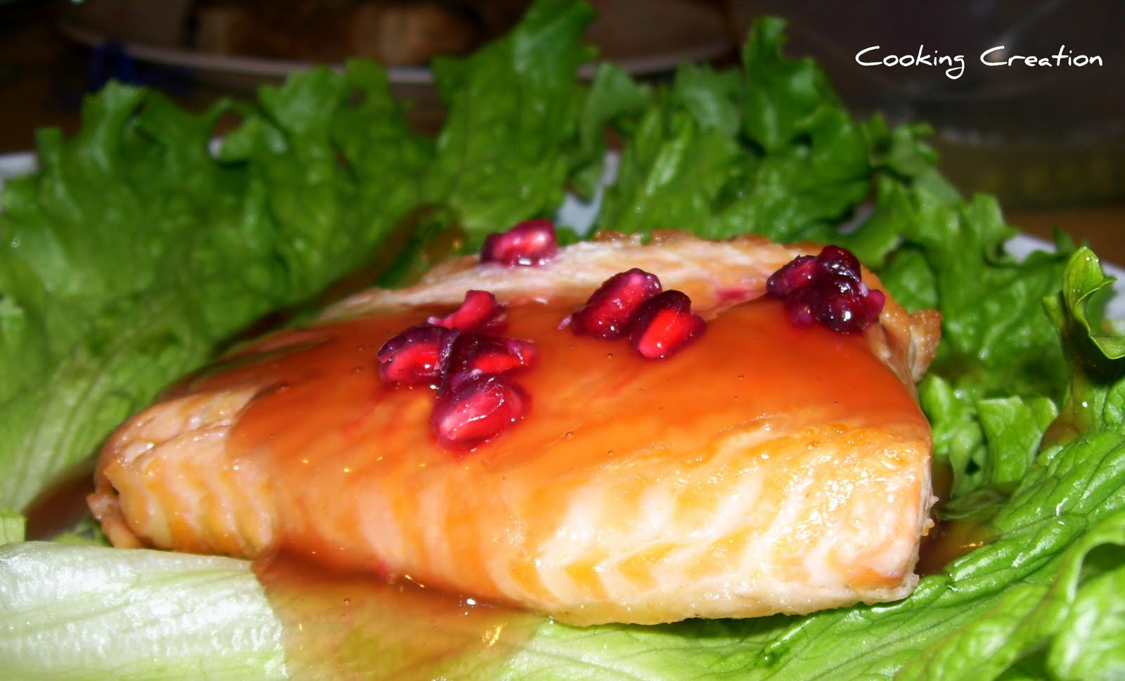 Panfried Salmon With Pomegranateorange Sauce How To Bake
