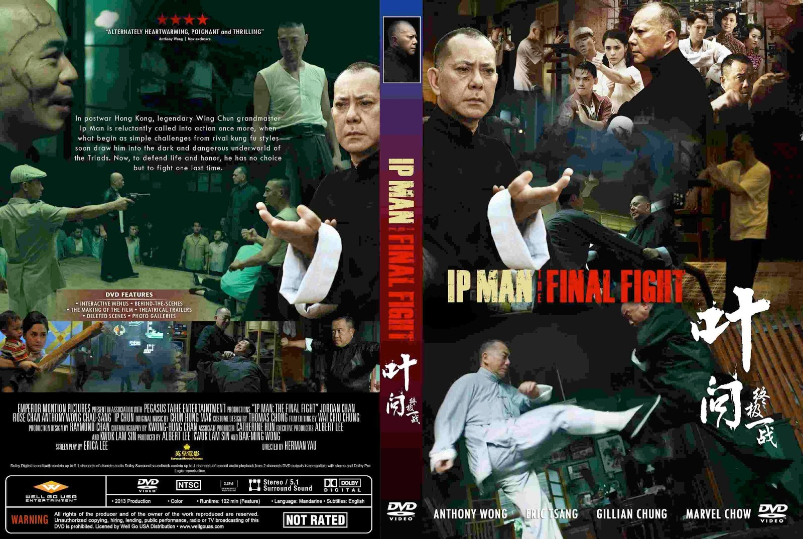 IP Man  The Final Fight  2013  - Cover DVD MovieIp Man The Final Fight Movie Poster