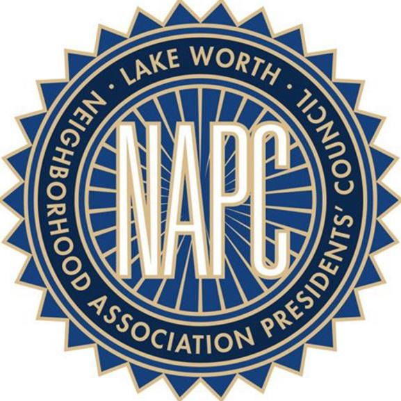 Who is your Lake Worth volunteer neighborhood NAPC organization? Click icon & learn more
