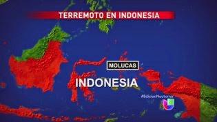 TERREMOTO 7,3 GRADOS INDOENSIA 15 DE NOVIEMBRE 2014