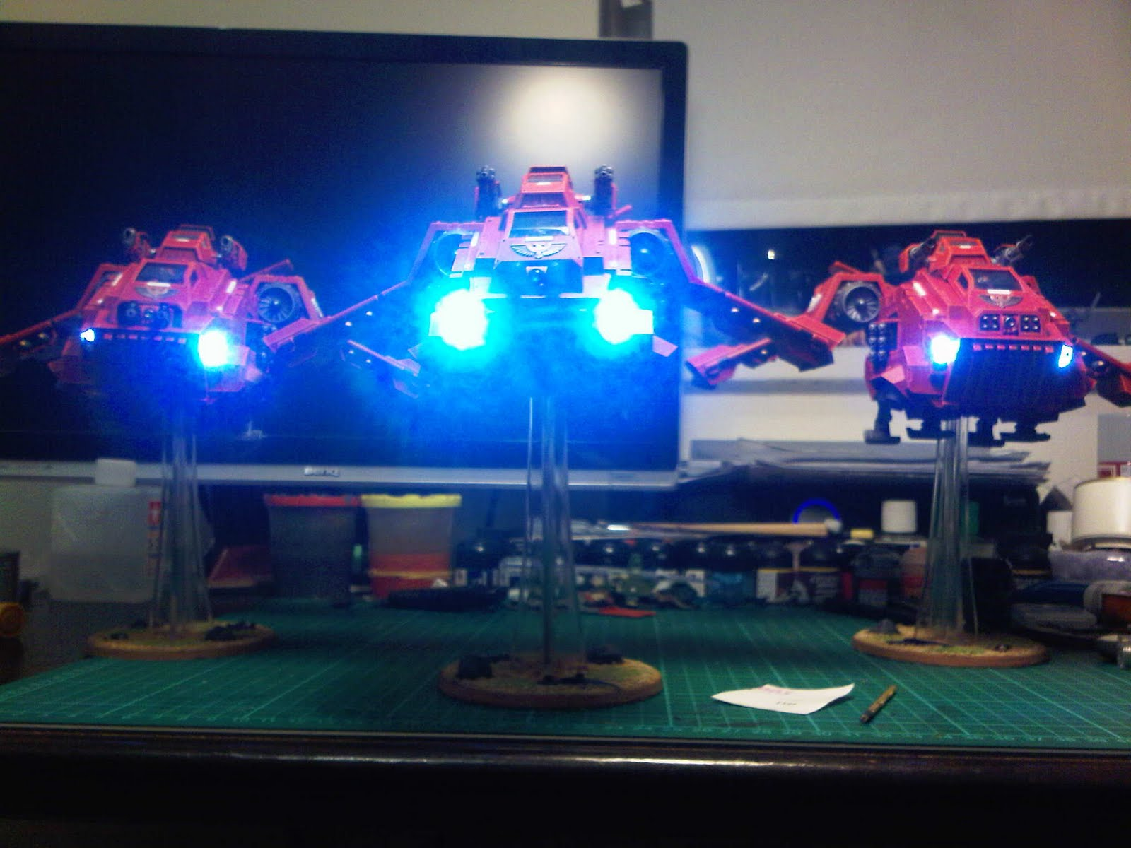 anything but ones led lights on stormraven squadron