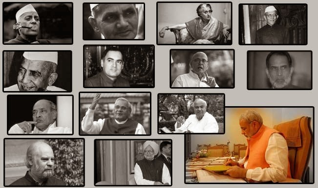 prime ministers of India