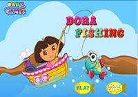 Permainan Dora Memancing