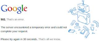 Error 502 en google.com
