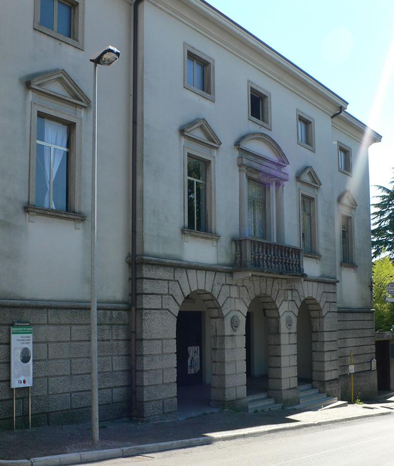 Dove va san daniele noi e il teatro ciconi - Parcella architetto per ristrutturazione ...