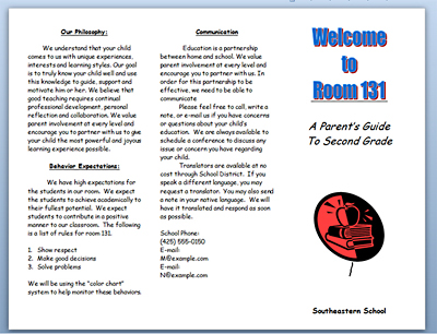 Brochure samples pics brochure microsoft word template for Word brochure templates
