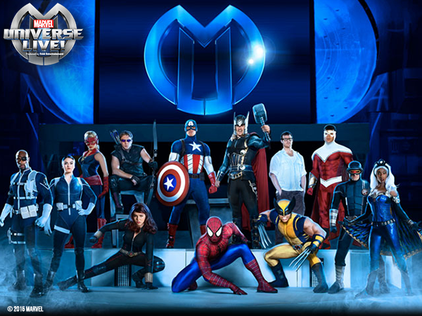 See these @MARVELonTour heroes at @TheQArena in CLE