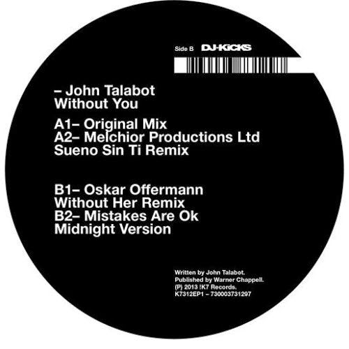 John Talabot - Without You EP