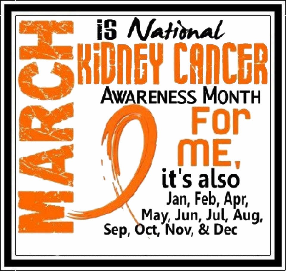 Kidney cancer awareness