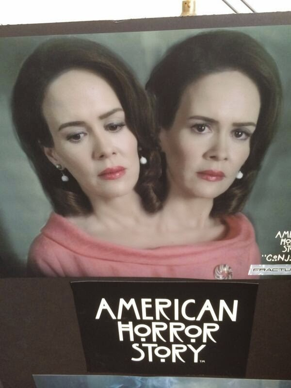 American Horror Story - Season 4 - Sarah Paulson Interview + BTS Photos