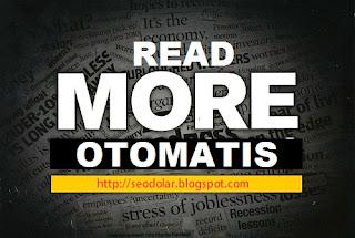 Cara Membuat Read More Otomatis Di Blogspot