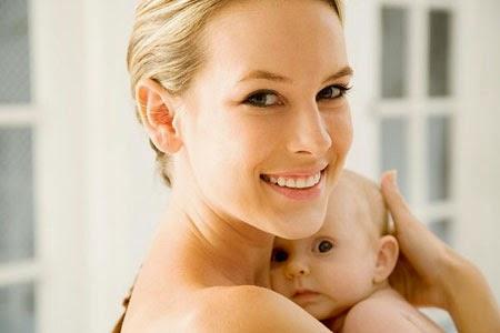 Cách chăm sóc da sau khi sinh bé