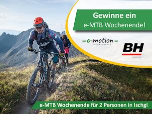 eMTB-Wochenende gewinnen!