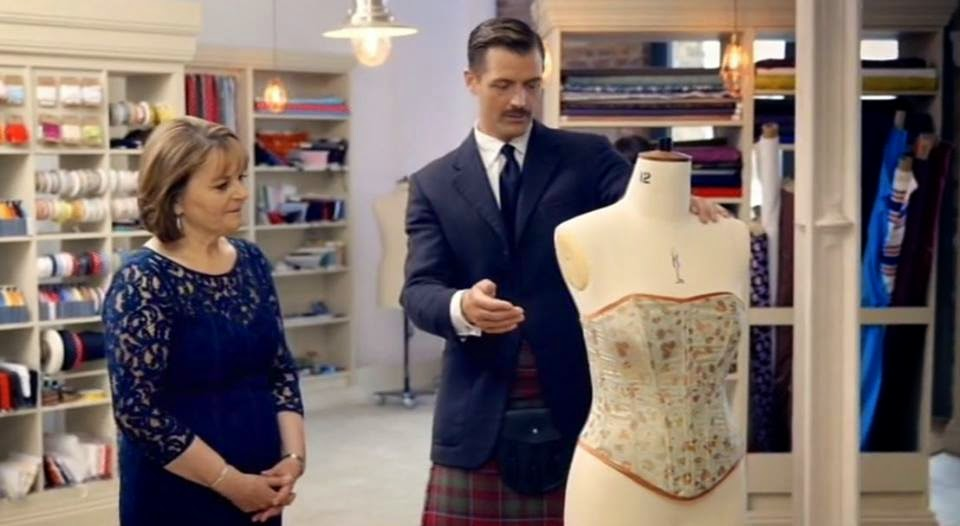 Magpie Makes The Great British Sewing Bee Does Corsets Part 1