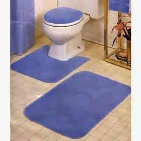Tapeçaria simples para banheiros