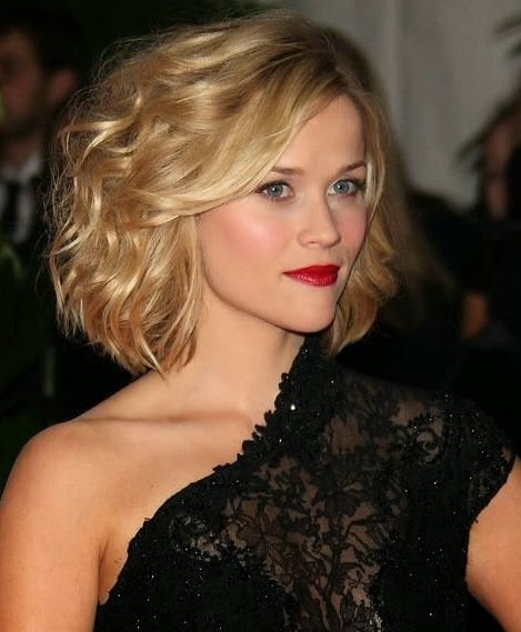 Reese Witherspoon blonde bob hairstyle