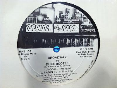 Duke Bootee – 'Broadway' (1986) (320kbps) (VLS)