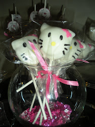 Hello Kitty Head Cake Pop