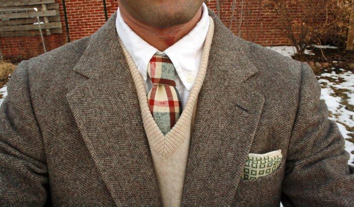 cream tie combo