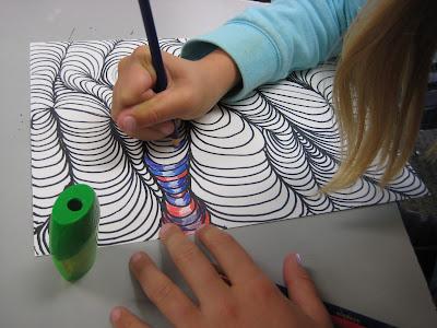 Line Drawing Ks2 : Line designs with shading u teachkidsart