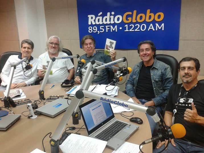 """No """"Plantão de Notícias"""" da Rádio Globo"""
