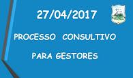 PROCESSO SELETIVO PARA GESTORES