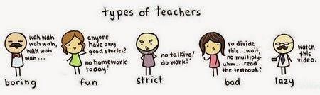 Types of teachers!