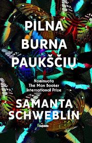 """Šiuo metu skaitau: Samanta Schweblin """"Pilna burna paukščių"""""""