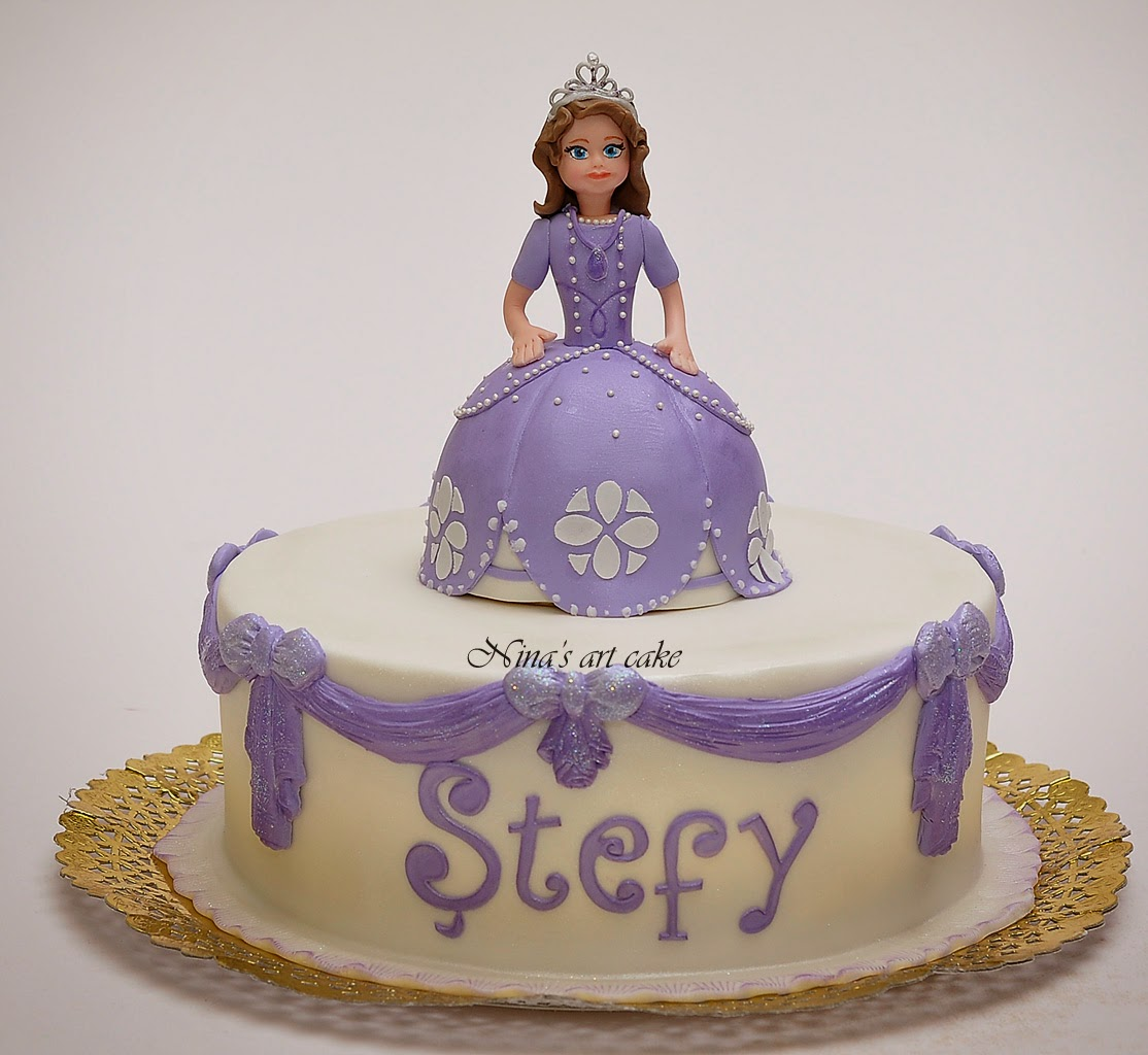 "Tort ""Printesa Sofia"" pentru Stefy"