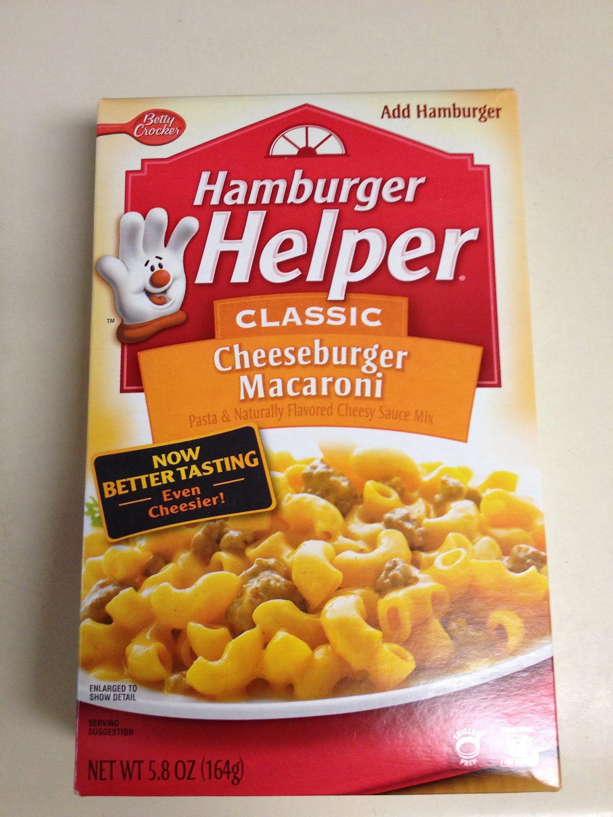 Sometimes it's those simple comforts that hit the spot best. I grew up in health-conscious home where things like Hamburger Helper were only served on very rare occasions.