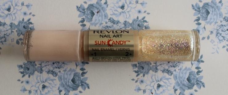 revlon sun candy nail art celestial shine