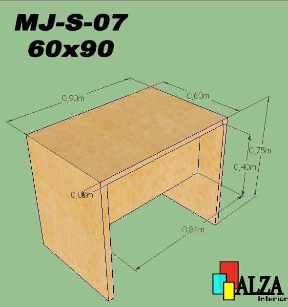 Meja Staff | Meja karyawan Surabaya MJ-S-07