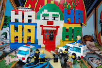 Jokers funhouse Lego build