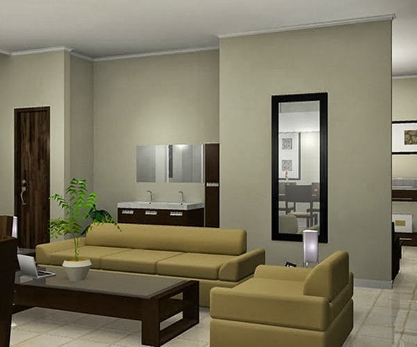 Contoh Desain Ruang Tamu Minimalis Sederhana