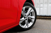 2015 New Vauxhall Astra Generation wheel drive view