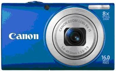 Canon PowerShot A4000IS in blue