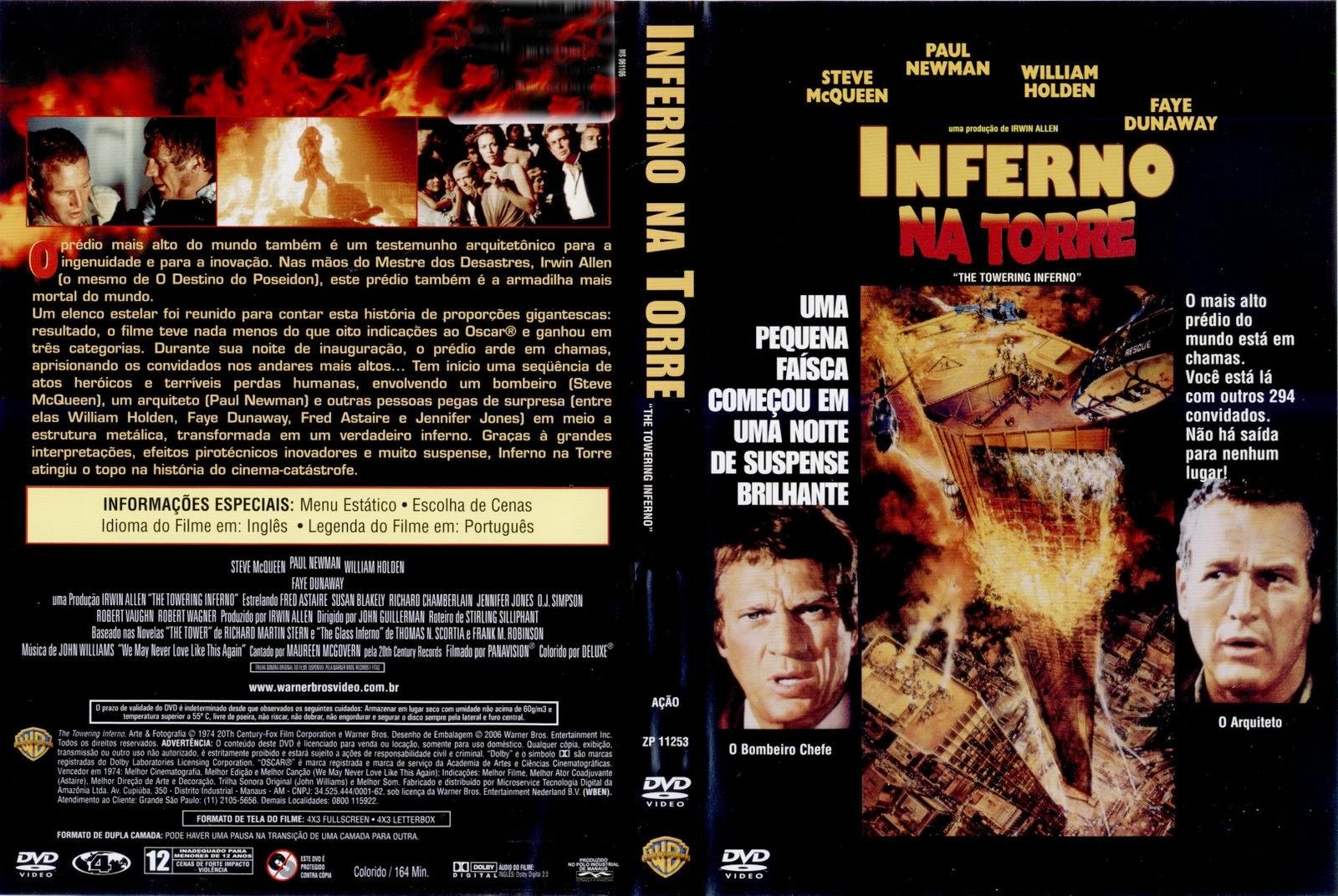 Inferno Em Chamas Ideal cine moments: inferno na torre de 1974