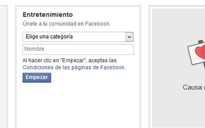 Como crear una pagina en Facebook (comunidad)